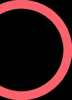 red half circle - maxemus Digital Marketing Services